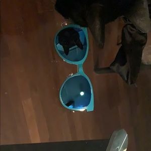Other - Teal cat eye sunglasses